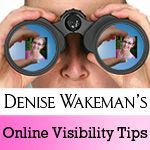 Denise Wakeman's Online Visibility Tips Podcast