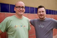 Darren Rowse and Chris Garrett Problogger