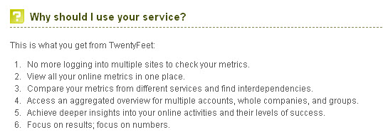 Twentyfeet-faq