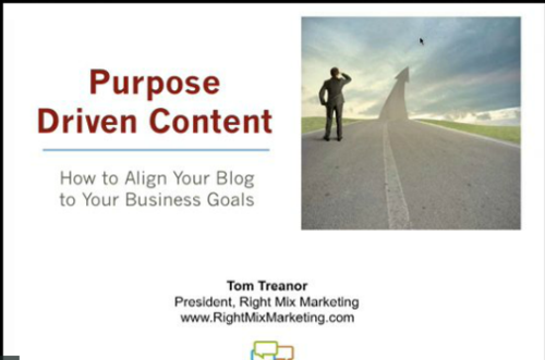 Purpose-driven-content-replay