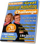 The Great Internet Marketing Challenge...Click here to get the free white paper.